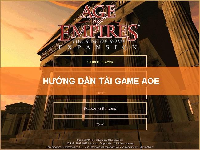 Hướng dẫn tải game AOE