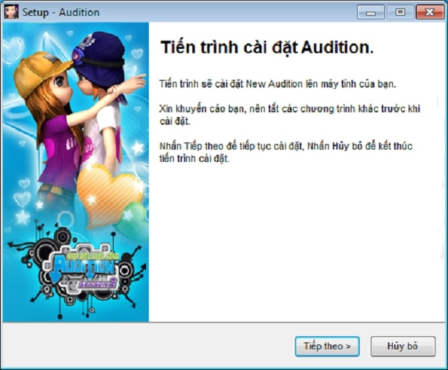 Kiểm tra máy tính trước khi tải game Audition về máy tính