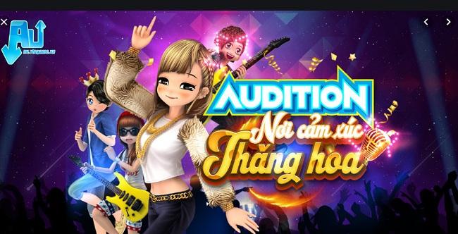 Các bước tải và cài đặt game Audition