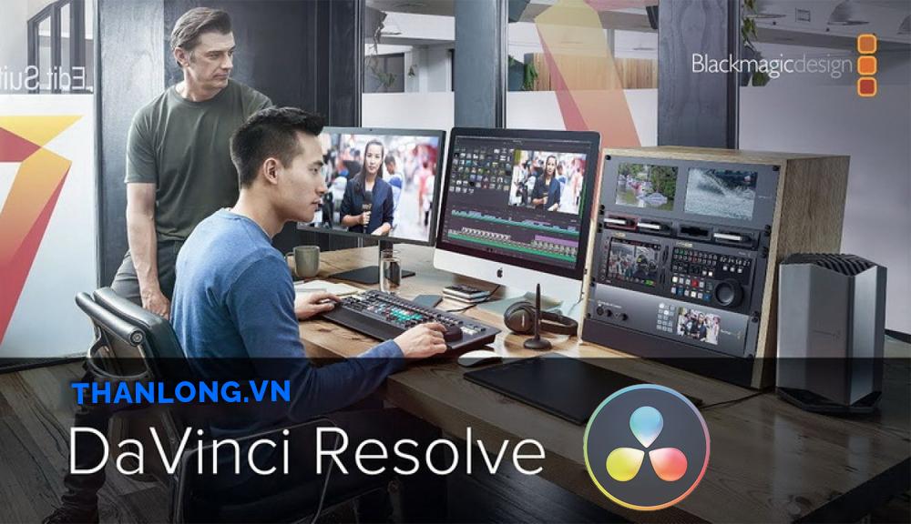 phần mềm edit video DaVinci Resolve