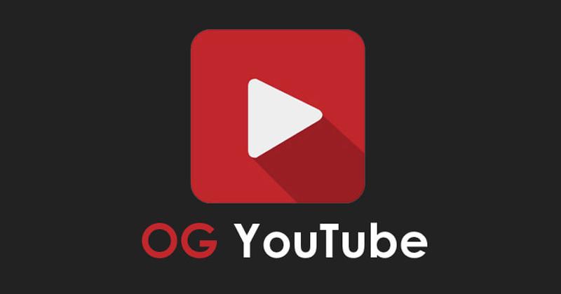 Phần mềm tải video OG Youtube