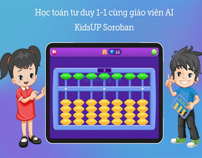 Lợi ích của việc cho bé học trên phần mềm Kidsup