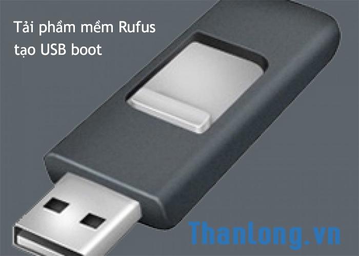 Giới thiệu phần mềm rufus