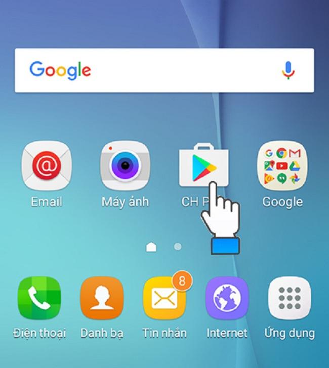 Tải CH Play cho Samsung - Cung cấp ứng dụng, game mobile miễn phí