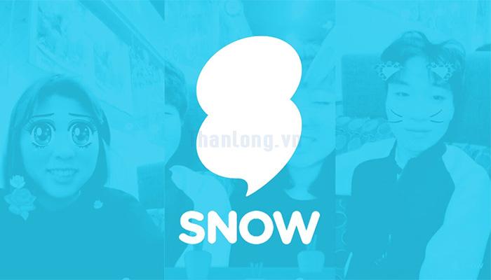 Ứng dụng Snow chụp hình selfie