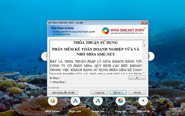 Các bước cài đặt phần mềm Misa cho máy tính