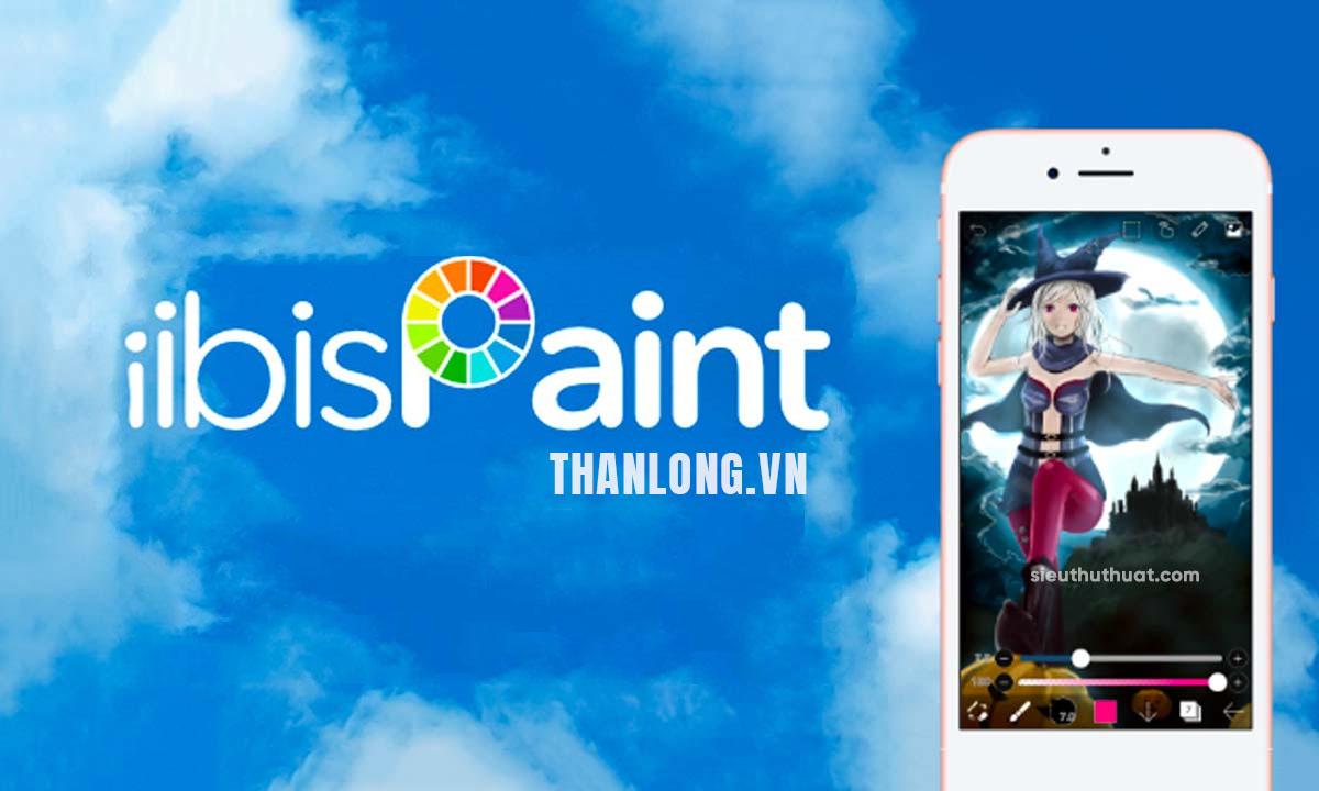 Tải phần mềm vẽ tranh ibispaint X