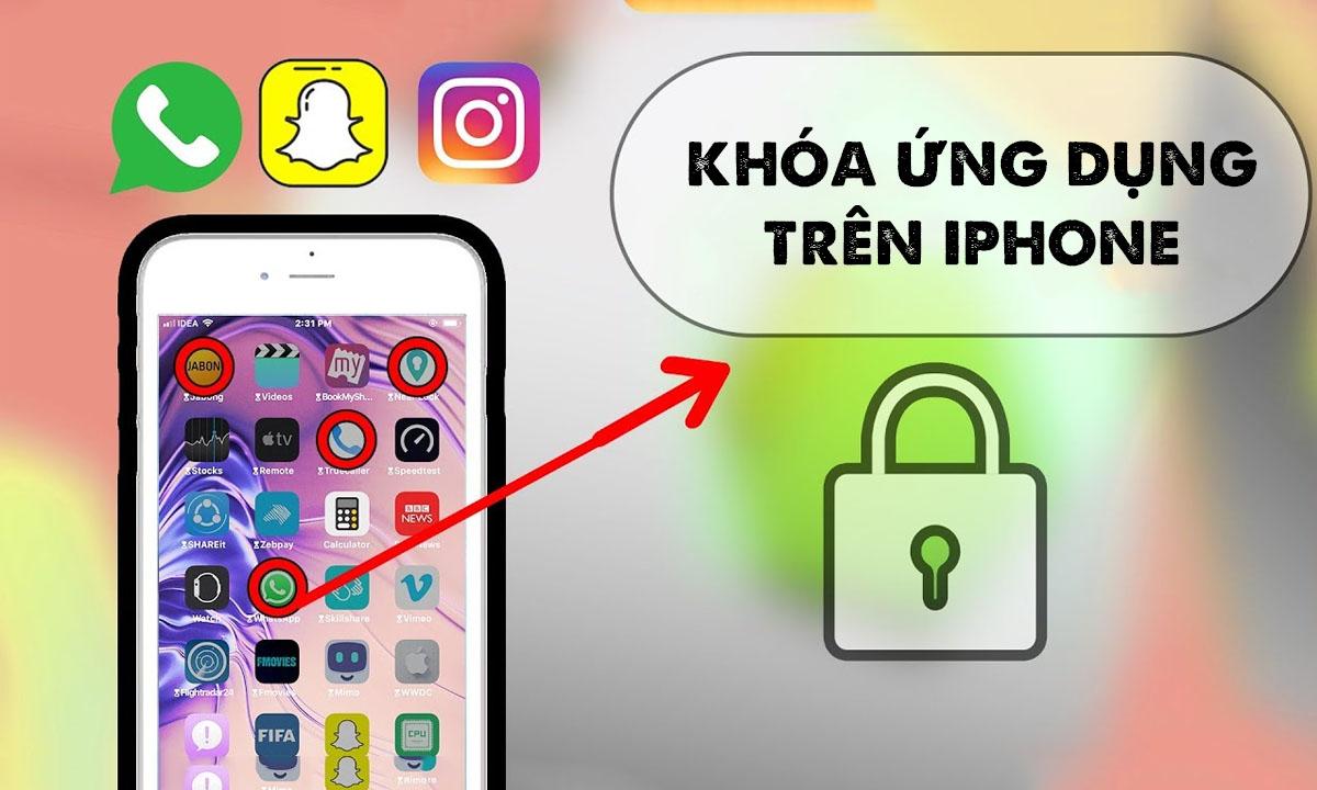 Tải phần mềm khóa ưng dụng cho iphone