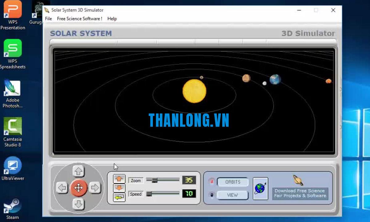 Hướng dẫn tải phần mềm Solar System