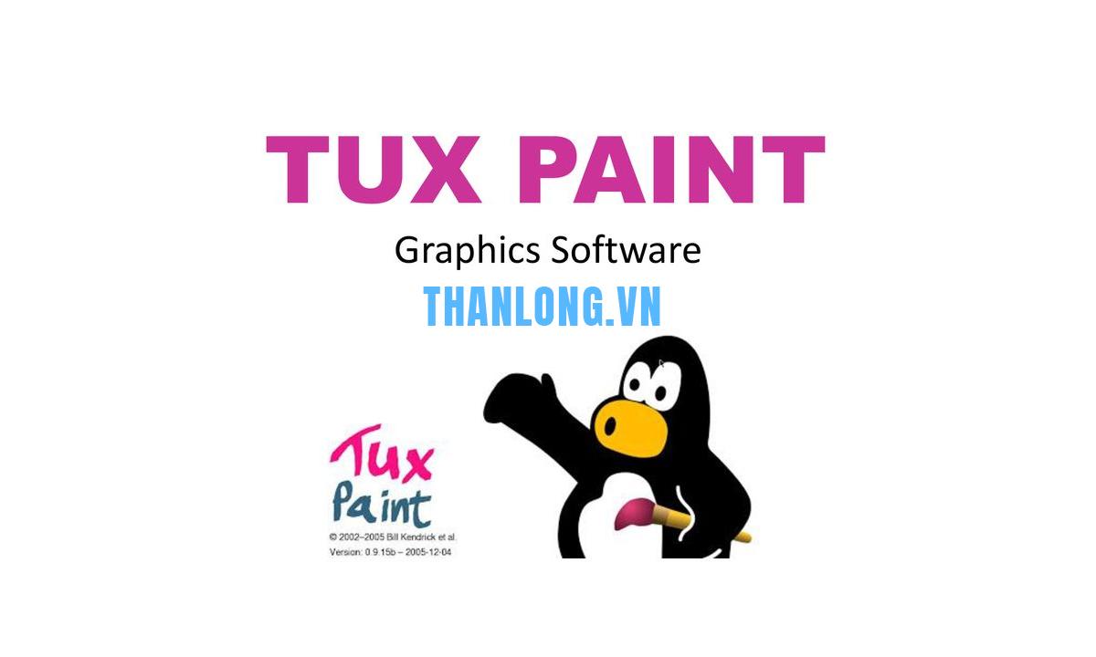 Cách tải phần mềm tux paint