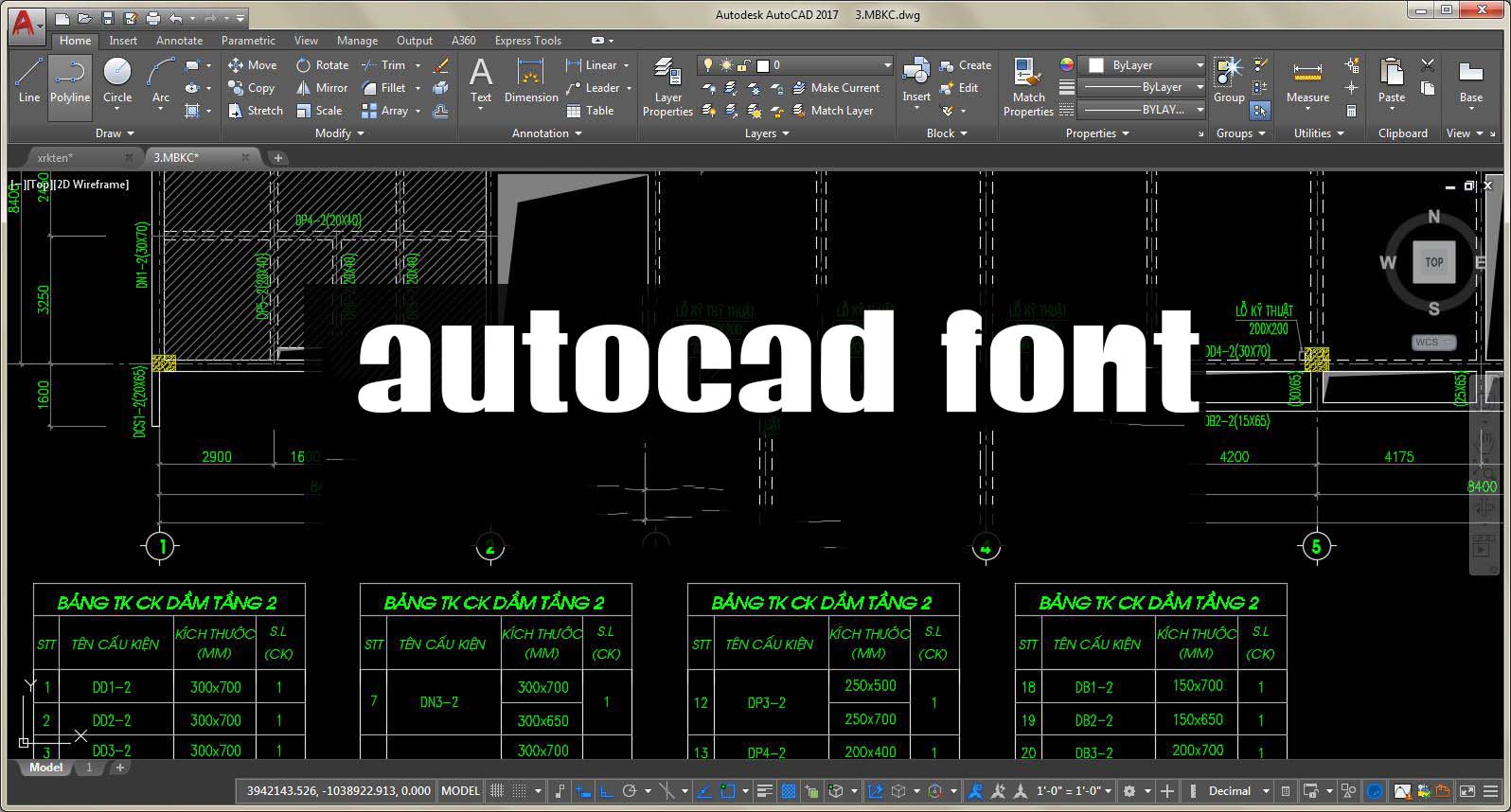 Font cad full