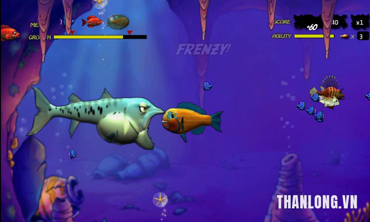 Hướng dẫn chơi game Cá lớn nuốt cá bé