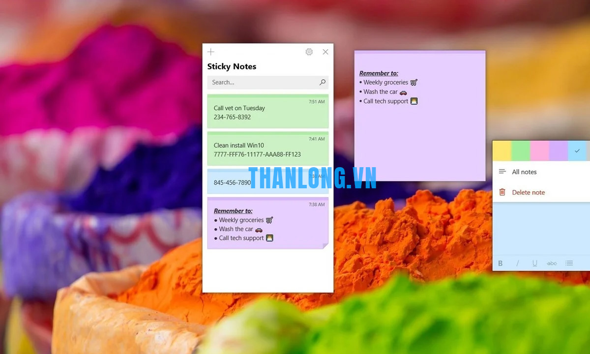 Download sticky note